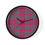 Tartan - Dalziel Wall Clock