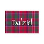 Tartan - Dalziel Rectangle Magnet (10 pack)