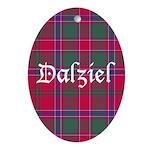Tartan - Dalziel Ornament (Oval)