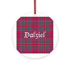 Tartan - Dalziel Ornament (Round)