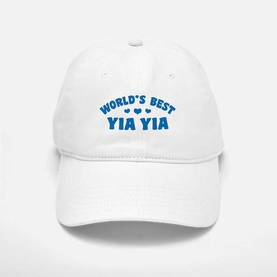 World's Best Yia Yia Baseball Baseball Cap