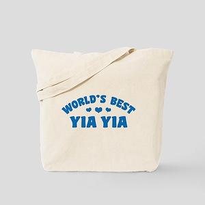 World's Best Yia Yia Tote Bag