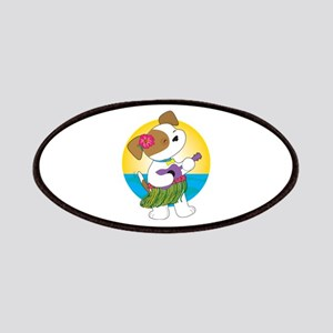 Cute Puppy Hawaii Patches