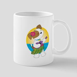 Cute Puppy Hawaii Mug