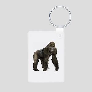 Gorilla Aluminum Photo Keychain