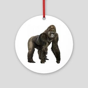 Gorilla Ornament (Round)