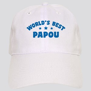 World's Best Greek Papou Cap