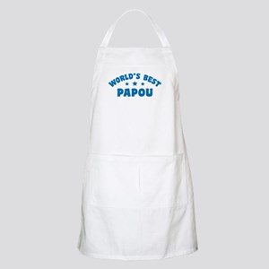 World's Best Greek Papou Apron