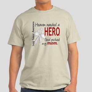 Heaven Needed a Hero Lung Cancer Light T-Shirt
