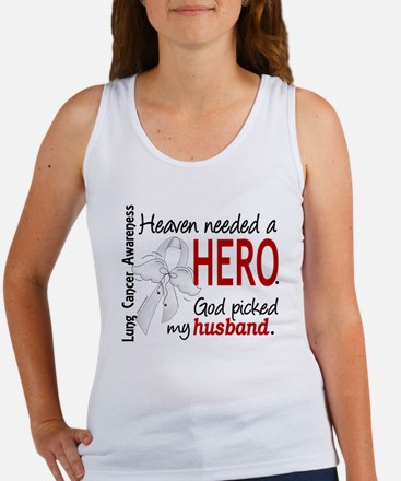 Heaven Needed a Hero Lung Cancer Women's Tank Top