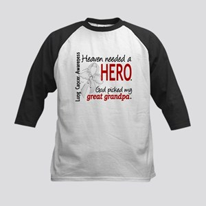 Heaven Needed a Hero Lung Cancer Kids Baseball Jer