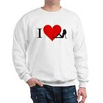 I Love Women Sweatshirt