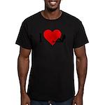 I Love Women Men's Fitted T-Shirt (dark)
