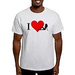 I Love Women Light T-Shirt