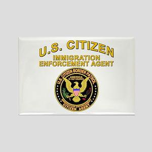 Border Patrol, Citizen Agent Rectangle Magnet