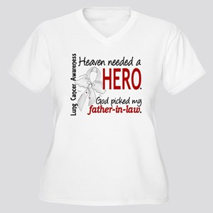 Heaven Needed a Hero Lung Cancer Women's Plus Size
