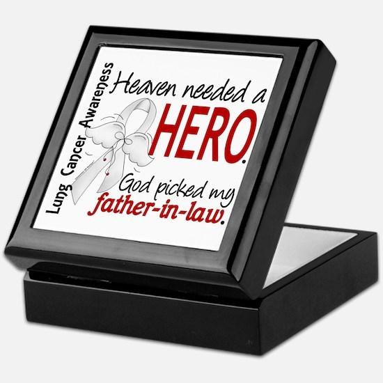Heaven Needed a Hero Lung Cancer Keepsake Box