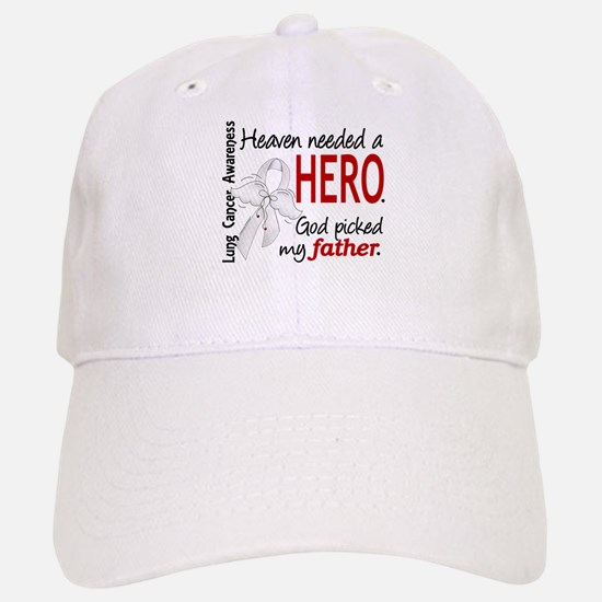 Heaven Needed a Hero Lung Cancer Baseball Baseball Cap