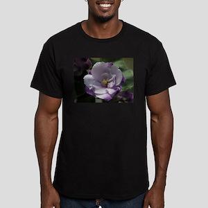 African Violet #02 Men's Fitted T-Shirt (dark)