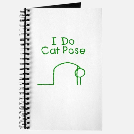 Green Cat Pose Journal