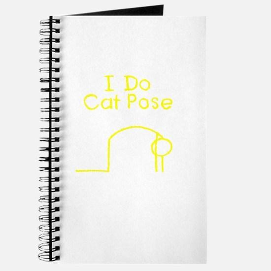 Yellow Cat Pose Journal