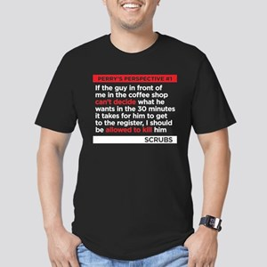 Perry's Perspective #1 Men's Fitted T-Shirt (dark)