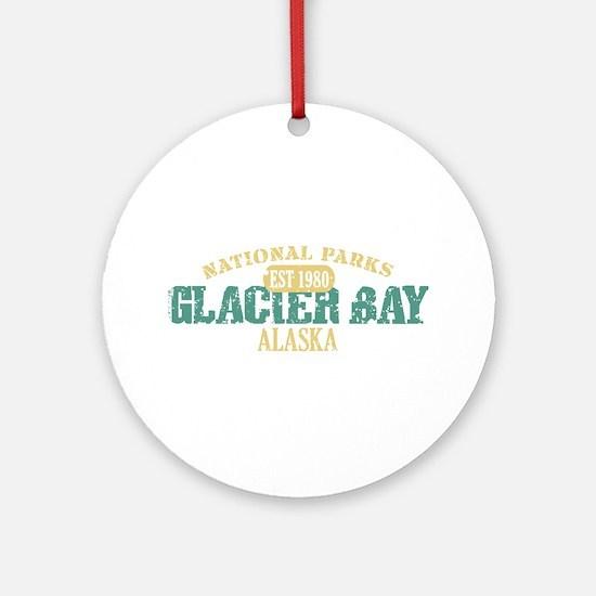 Glacier Bay National Park AK Ornament (Round)