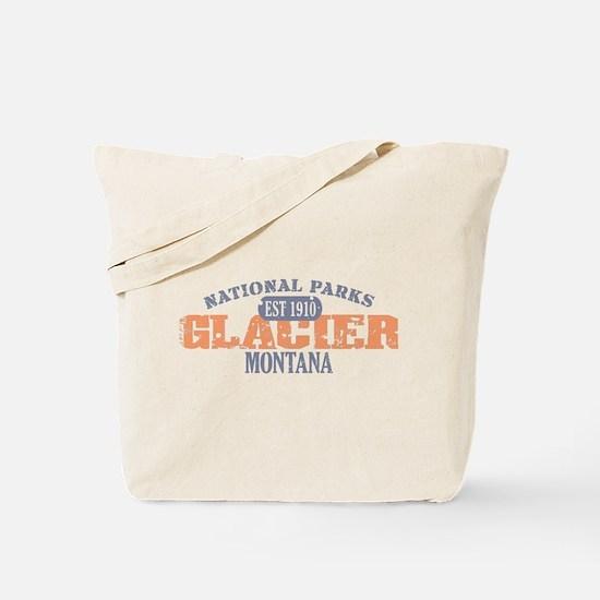 Glacier National Park Montana Tote Bag