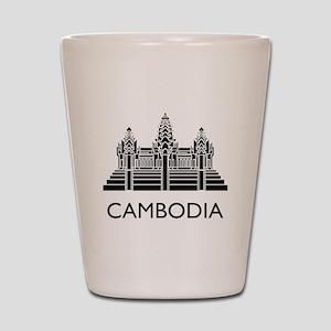 Cambodia Angkor Wat Shot Glass