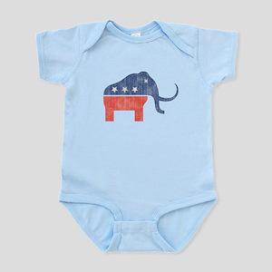 GOP Mammoth Logo Infant Bodysuit