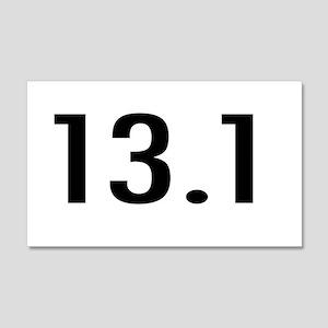 I Run Because 22x14 Wall Peel