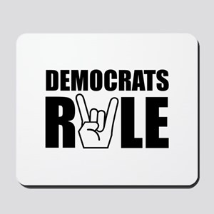 Democrats Rule Mousepad