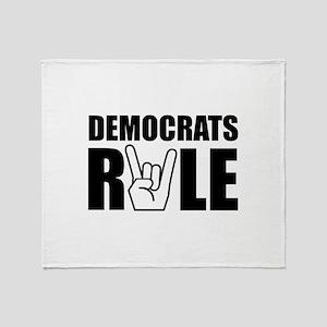 Democrats Rule Throw Blanket