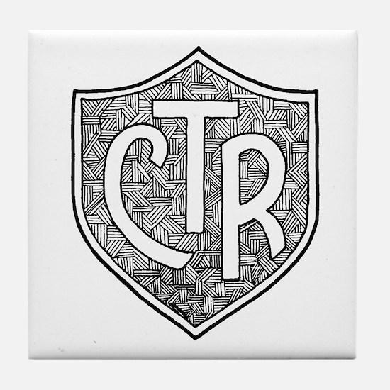 CTR Tile Coaster