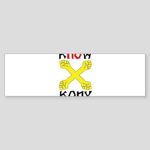 KNOW KONY Sticker (Bumper)