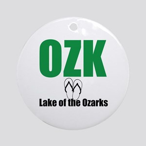 Lake of the Ozark Ornament (Round)