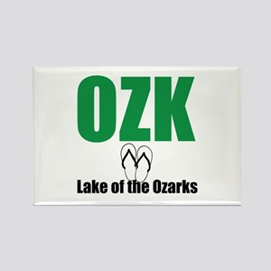Lake of the Ozarks Rectangle Magnet