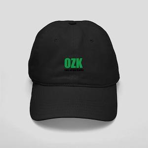 Lake of the Ozarks Black Baseball Cap