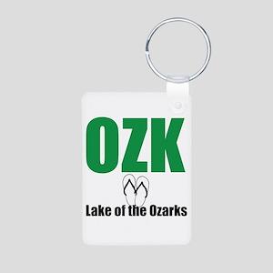 Lake of the Ozarks Aluminum Photo Keychain
