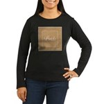 Bridal Blush - Bride - Women's Long Sleeve Dark T-