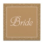 Bridal Blush - Bride - Tile Coaster