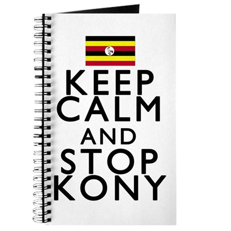 Stay Calm and Stop Kony Journal