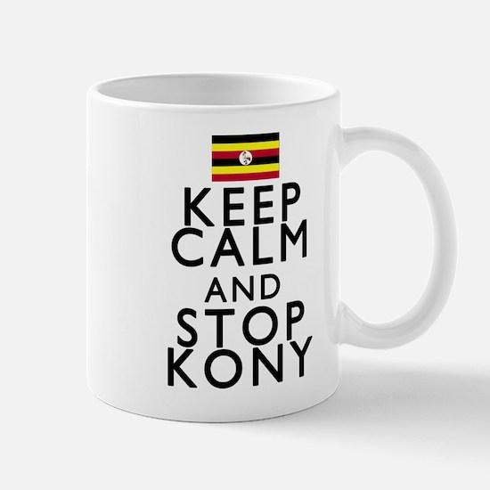 Stay Calm and Stop Kony Mug