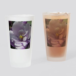 African Violet #02 Drinking Glass