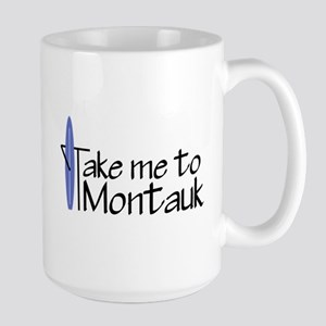 Take me to Montauk Large Mug