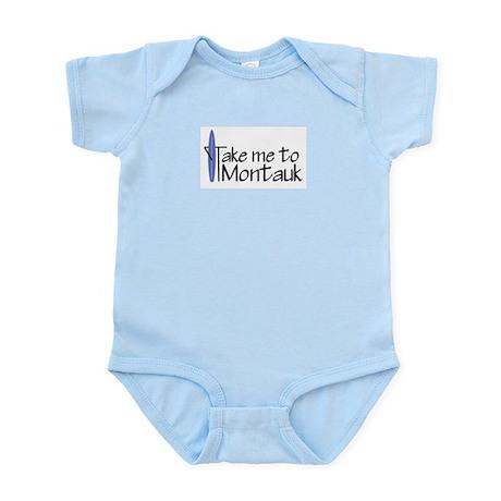 Take me to Montauk Infant Bodysuit