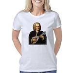 JSBach portrait  with mand Women's Classic T-Shirt