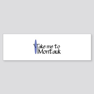 Take me to Montauk Sticker (Bumper)