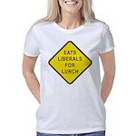 Eats Liberals for Lunch Women's Classic T-Shirt