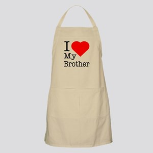 I Love My Brother Apron